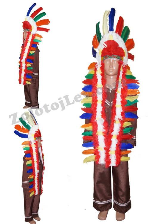 Костюм Вождя индейцев рост 134