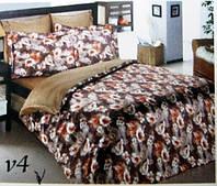 Комплект постельного белья полуторный 160х220 Mariposa Шелк/Бамбук Жак AMANTE V4