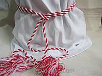 Пояс-жгутик из ткани, 1,9 метра, тонкий, 20/15 (цена за 1 шт. + 5 гр.)