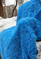 Покрывало на кровать Евро размера East Comfort (синий цвет)