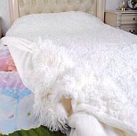 Ворсистое покрывало на кровать Евро размера East Comfort