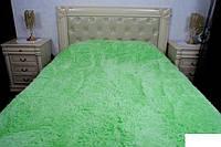 Ворсистое покрывало на кровать Евро размер East Comfort