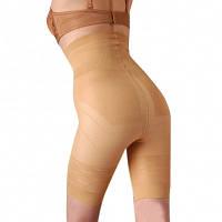 Корректирующие шорты с высокой эластичностью, телесного цвета