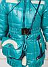 Зимнее пальто Моника для девочка + сумка ,38р , фото 2
