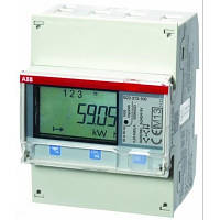Многотарифный  ABB 3ф. Счетчик электроэнергии с ЖК-дисплеем, 3ф. kWh# B23 311-100 (2CMA100168R1000)