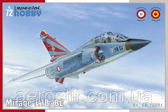 Истребитель Mirage F.1B/BE 1/72 Special Hobby 72291