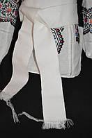 Белый тканый пояс, 1,5 метра, 65/50 (цена за 1 шт. + 15 гр.)