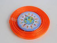 Лента атласная 5 мм Оранжевая