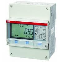 Многотарифный  ABB 3ф. Счетчик электроэнергии с ЖК-дисплеем, 3ф. kWh# B24 351-100 (2CMA100182R1000)