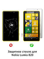 Защитное стекло для Nokia Lumia 820