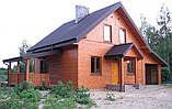 Дом из газобетона, теплый дом, строительство домов из газобетона в Днепре, Киеве, фото 5