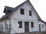 Дом из газобетона, теплый дом, строительство домов из газобетона в Днепре, Киеве, фото 6