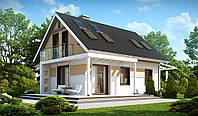 Загородный дом из пенобетона, цена за кв.м, сколько стоит дом построить