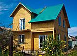 Сборные коттеджи, каркасные коттеджи, каркасное строительство Днепр, Киев, фото 5