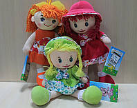Мягкая игрушка кукла Маша.