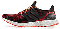 Женские кроссовки Adidas Ultra Boost (адидас ультра буст) красные