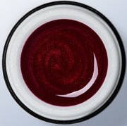 Цветной гель Le Vole Exclusive Color gel LVCG-015 вишнёвый металлик