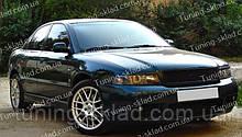 Вії Ауді А4 Б5 (накладки на передні фари Audi A4 B5)