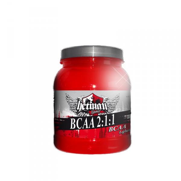 Аминокислоты BCAA 2:1:1 от Hetman Sport (500 грамм) + глютамин и таурин