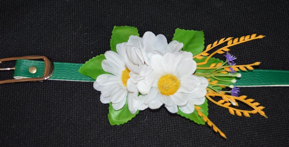Нежный пояс с цветами, 65/60 (цена за 1 шт. + 5 гр.)