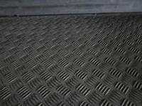 Лист рифленый нж AISI 304  1,0 (1,0х2,0) BA+PVC  листы нж нержавеющая сталь нержавейка цена квинтет