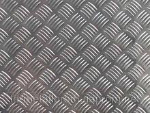 Лист рифлений нержавіючий AISI 304 3,0 (1,0х2,0) листи нж рифлений нержавіюча сталь нержавіюча сталь