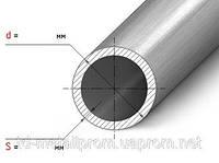 Труба н/ж 14х2,0 tig круглая матовая AISI 304  сталь нержавейка трубы нж гост цена купить