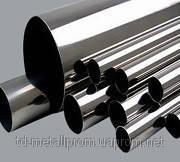Труба н/ж 25х3,0 tig круглая матовая AISI 304 сталь нержавейка трубы нержавеющие гост цена купить