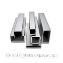 Труба н/ж 25х25х1,0 профильная  матовая AISI 304
