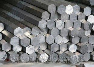 Шестигранник 24 мм, Н11, 5-6м, AISI 321/1.4541