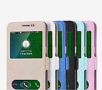 """Samsung J5 2016 J510 оригинальный SMART чехол книжка с окошками для телефона """"SILCO SMART TOP"""""""