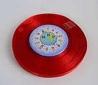 Лента атласная 6 мм Красная 8055
