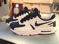 Кроссовки Nike Air Max Zero, размеры 35,36,37,38,39,40,41,42,43,44., белые, синие
