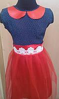 Детское Платье с кружевом -  от 1 до 15 лет прокат.