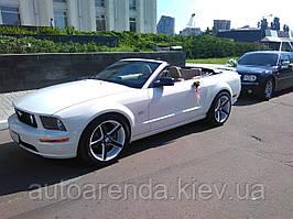 Аренда кабриолета Ford Mustang