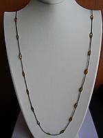 Колье серебряное  с цирконием