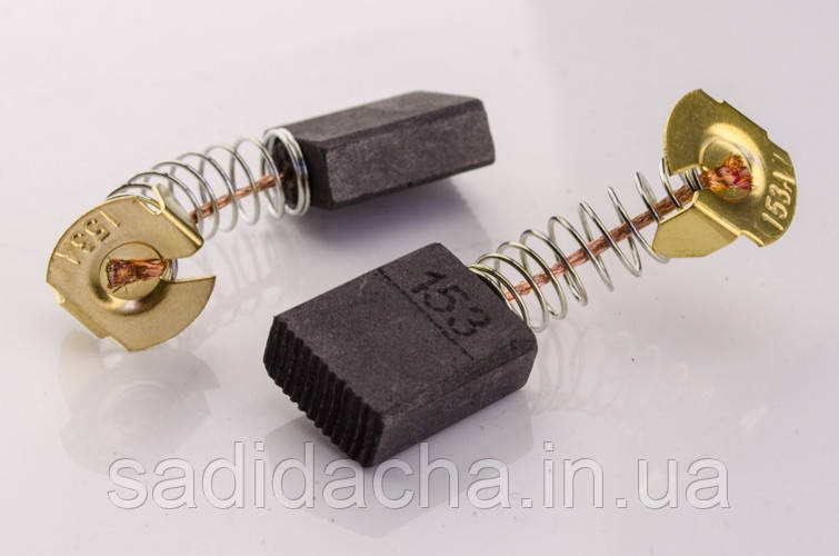 Щітки для електродвигунів 6х13х18