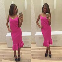 Красивое летнее вечернее платье в расцветках r-2031800