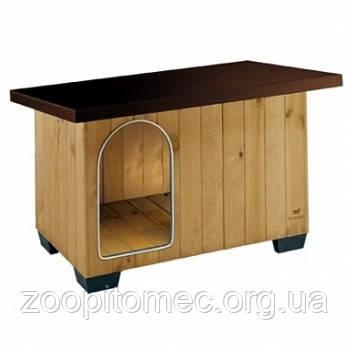 Будка для собак BAITA 60 FERPLAST (Ферпласт) деревянная, 67*53*55,5 см