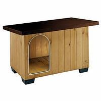 Будка для собак BAITA 60 FERPLAST (Ферпласт) деревянная, 67*53*55,5 см, фото 1