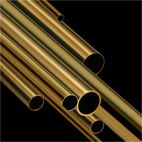 Латунная труба ф 10х1.5мм Л63 мерная  ГОСТ цена купить доставка,  порезка по розмерам.