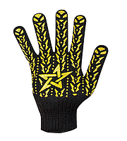 """Перчатки рабочие трикотажные (очень плотные) с ПВХ точкой """"Звезда"""", Долони 562, фото 1"""