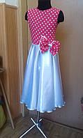 Платье - горошки  от 1 до 10 лет