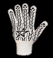 """Перчатки рабочие трикотажные (очень плотные) с ПВХ точкой """"Звезда"""", Долони №573, фото 1"""