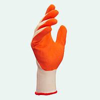 Перчатки нейлоновые с латексным покрытием. тм Долони, №4527
