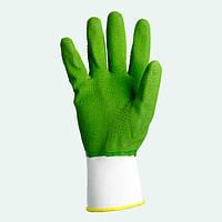 Перчатки нейлоновые с латексным покрытием. тм Долони, №4526