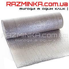 Вспененный полиэтилен фольгированный с двух сторон 2мм (50м2)