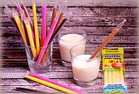 Трубочки для молока со вкусом Банан Quick Milk