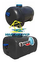 Пластиковый бак для летнего душа овальный 125 литров