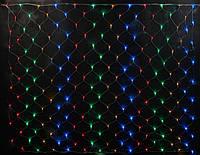 СВІТЛОДІОДНА МЕРЕЖА, 2х3 метра -разноцвет